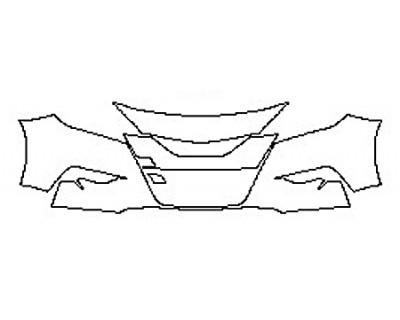 2018 NISSAN MAXIMA S Bumper (3 Piece)