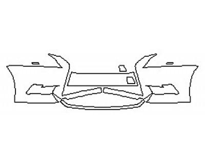 2016 LEXUS LS 460 Bumper
