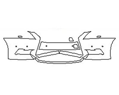 2016 LEXUS LS 460 Bumper With Sensors