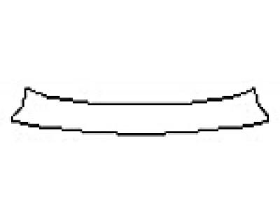 2016 LEXUS LS 460 Rear Bumper Deck