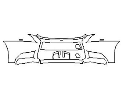 2016 LEXUS LS 460 F-SPORT Bumper