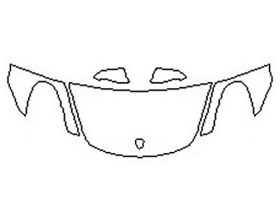 2016 PORSCHE BOXTER BASE Hood  Fenders  Mirrors