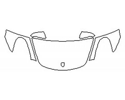 2016 PORSCHE CAYMAN BASE Hood  Fenders  Mirrors