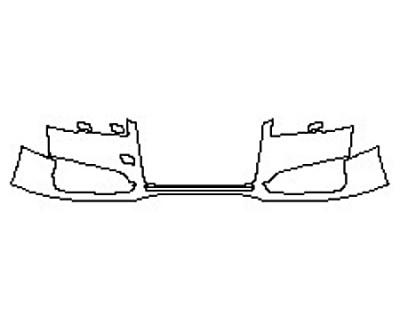 2017 AUDI S8 Bumper (1 Piece)