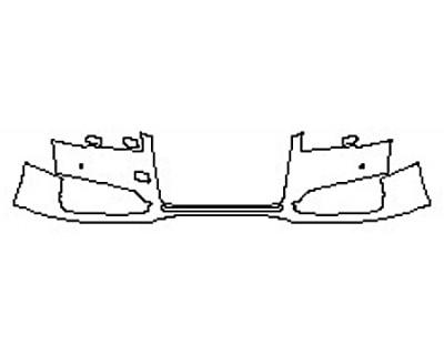 2017 AUDI S8 Bumper With Sensors (1 Piece)