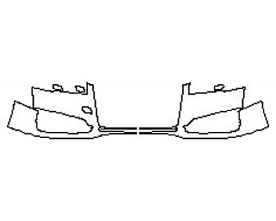 2017 AUDI S8 Bumper (2 Piece)