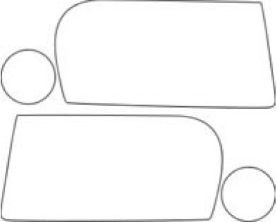2010 CHRYSLER 300 TOURING  Hood Fender Mirror Kit