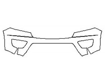 2020 CHEVROLET COLORADO LT Bumper (1 Piece)
