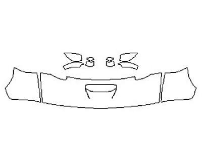 2018 DODGE CHALLENGER HELLCAT Hood  Fenders  Mirrors