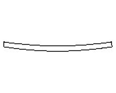2018 DODGE CHALLENGER RT SHAKER Rear Bumper Deck
