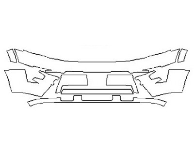 2017 FORD EXPEDITION PLATINUM Bumper (Plate Cutout)