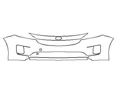 2017 KIA SEDONA SX Bumper (3 Piece)