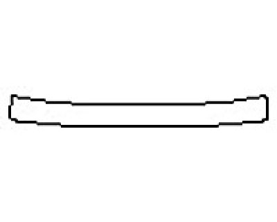 2017 LEXUS RC 350 Rear Bumper Deck