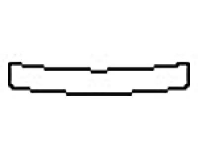 2017 AUDI RS7 Rear Bumper Deck