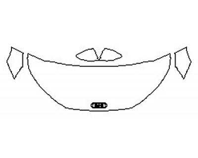 2017 AUDI TT Hood (30 Inch Wrapped) Fenders Mirrors