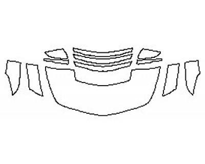 2017 CADILLAC CTS-V SEDAN Hood (24 Inch) Fenders Mirrors