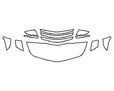 2017 CADILLAC CTS-V SEDAN Hood (18 Inch) Fenders Mirrors