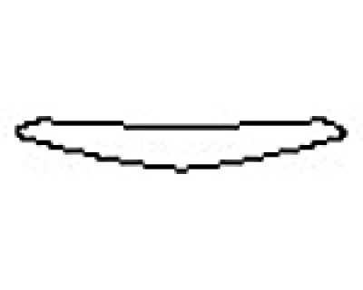 2017 CADILLAC CTS-V SEDAN Rear Bumper Deck