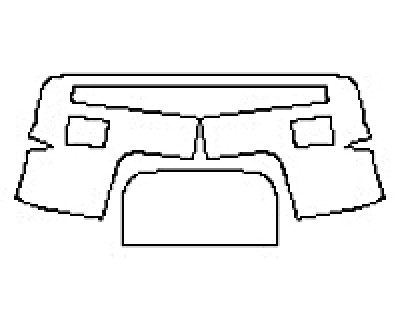2017 DODGE RAM 1500 REBEL Bumper