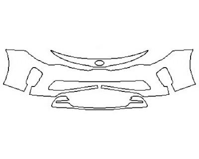2017 KIA OPTIMA SX Bumper