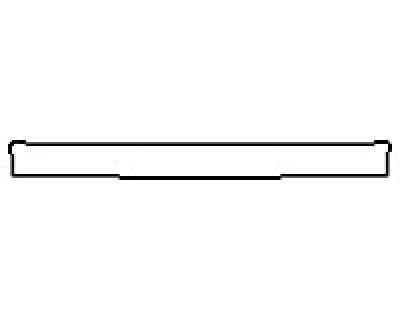 2016 LAND ROVER RANGE ROVER EVOQUE 5DR SE Rear Bumper Deck