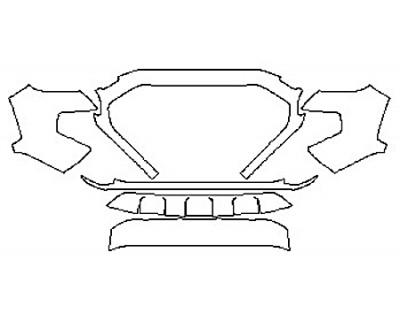2020 TOYOTA TACOMA TRD SPORT Bumper (6 Piece)