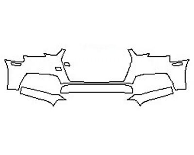 2017 AUDI A4 Bumper (3 Piece)
