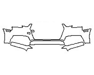 2017 AUDI A4 S-LINE Bumper (3 Piece)