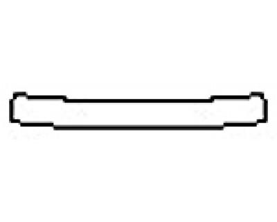 2017 AUDI A4 S-LINE Rear Bumper Deck