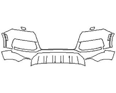 2017 AUDI Q7 Bumper