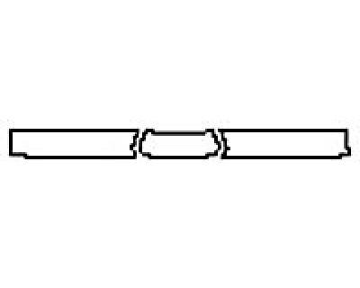 2017 GMC ACADIA SLE Rear Bumper Deck
