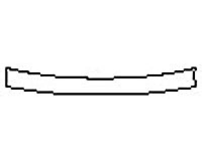 2017 HYUNDAI SANTA FE SPORT 2.0T ULTIMATE Rear Bumper Deck