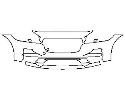 2020 JAGUAR F-PACE PRESTIGE Bumper