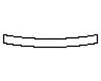 2017 JAGUAR F-PACE R-SPORT Rear Bumper Deck