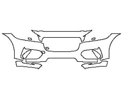 2017 JAGUAR F-PACE S Bumper