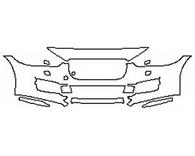 2017 JAGUAR XE PREMIUM Bumper With Washers