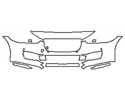 2017 JAGUAR XE PREMIUM Bumper With Sensors