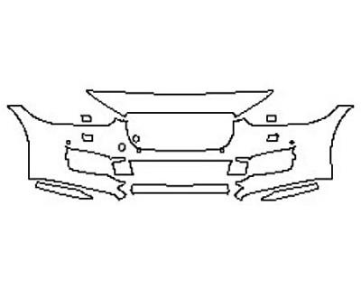 2017 JAGUAR XE PREMIUM Bumper With Washers And Sensors