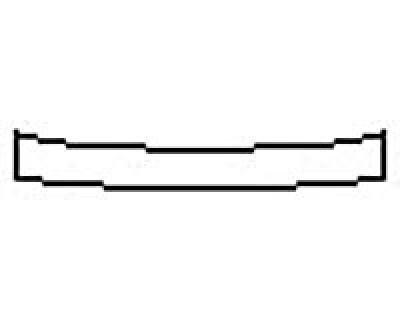 2017 JAGUAR XE R-SPORT Rear Bumper Deck