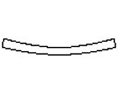 2018 CADILLAC CT6 LUXURY Rear Bumper Deck