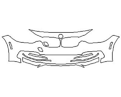 2017 BMW 3 SERIES 330I SEDAN BASE Bumper