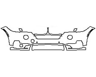 2017 BMW X5 SDRIVE35I BASE Bumper With Sensors(5 Piece)