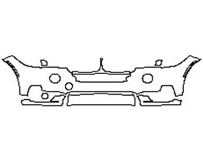 2017 BMW X5 XDRIVE50I BASE Bumper(5 Piece)
