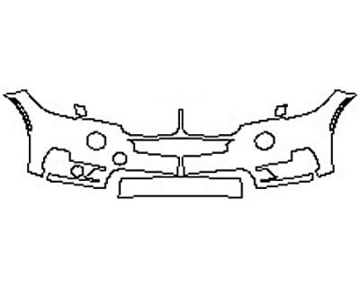 2017 BMW X5 XDRIVE50I BASE Bumper(2 Piece)