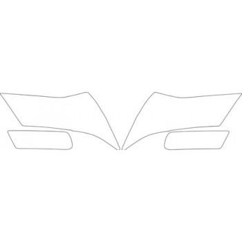 2011 ACURA MDX  Headlights Fog Lights Kit