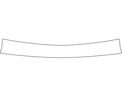 2017 ACURA RLX SEDAN ADVANCE Rear Bumper Deck