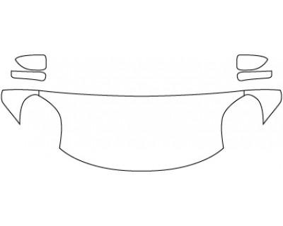 2020 ALFA ROMEO 4C  Hood Fenders Mirrors (24 Inch)