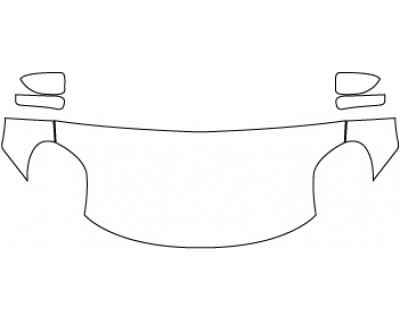 2020 ALFA ROMEO 4C  Hood Fenders Mirrors (30 Inch)
