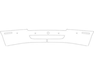 2012 ASTON MARTIN RAPIDE SEDAN  Bumper(with Sensors) Kit