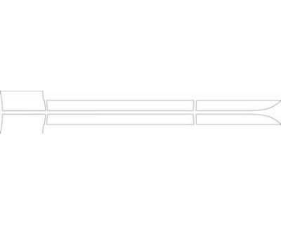 2012 ASTON MARTIN RAPIDE SEDAN  Doors Kit